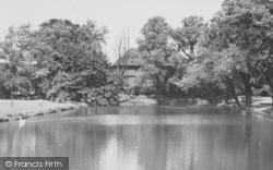 Dagenham, The Moat, Valence Park c.1960
