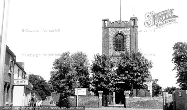 Photo of Dagenham, The Old Church Of St Peter And St Paul c.1960