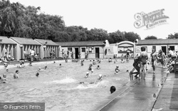 Dagenham, The Swimming Pool, Valence Park c.1960
