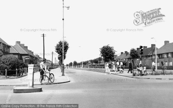 Photo of Dagenham, Valence Avenue c.1955