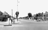 Dagenham, Valence Avenue c1955