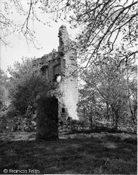 Dailly, Brunston Castle 1958