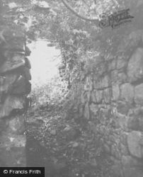 Dalbeattie, Buittle Castle Remains 1951
