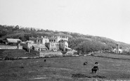Dale, Castle and Church c1950