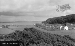 Dale, The Bay From Church Tower 1960
