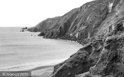 Dale, The Headland c.1955