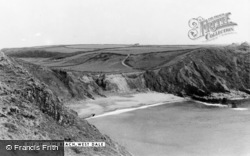 Dale, Westdale Beach c.1955