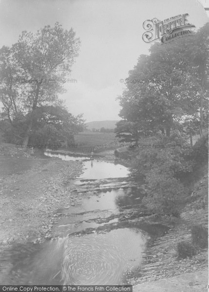 Photo of Dalehead, The River Hodder, Stepping Stones 1921