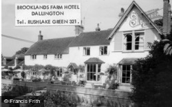 Dallington, Brooklands Farm Hotel c.1960