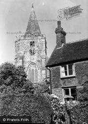 Dallington, Church Of St Giles c.1955