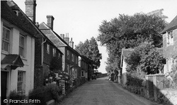 Dallington, The Street c.1955