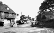 Dallington, Woods Corner c1955