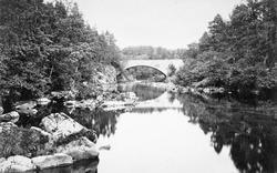 Dalry, Allangibbon Bridge 1895, St John's Town Of Dalry