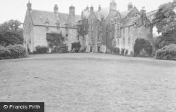 Dalry, Blair Estate From Garden 1951