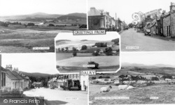 Dalry, Composite c.1955, St John's Town Of Dalry