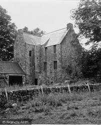 Dalry, Earlstoun Castle 1951, St John's Town Of Dalry