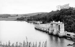 Dalry, Earlstoun Dam c.1960, St John's Town Of Dalry