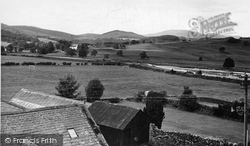 Dalry, Ken And Kells Range From Lochinvar Hotel c.1955, St John's Town Of Dalry