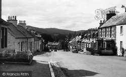 Dalry, Main Street c.1955, St John's Town Of Dalry
