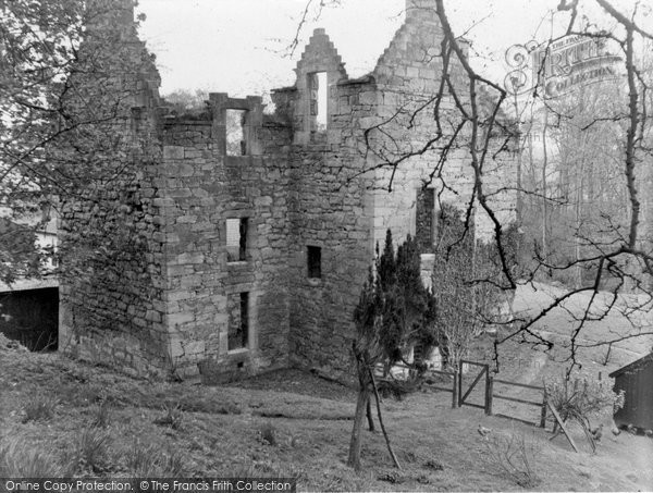 Photo of Dalry, Monkcastle 1958