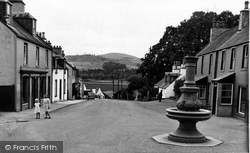 Dalry, The Fountain c.1960, St John's Town Of Dalry