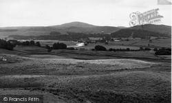 Dalry, The Ken Valley c.1955, St John's Town Of Dalry