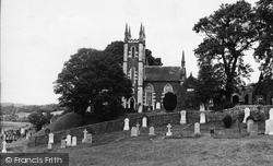 Dalry, The Parish Church c.1955, St John's Town Of Dalry