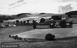 Dalry, Townhead c.1955, St John's Town Of Dalry