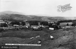 Dalry, View From The Mulloch c.1955, St John's Town Of Dalry