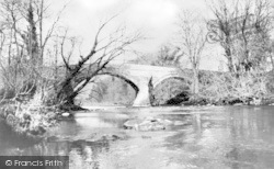 Dalston, Stone Bridge And River Caldew c.1935