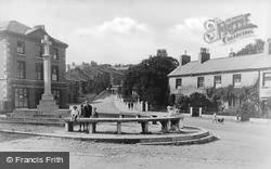 Dalton-In-Furness, Market Place And Cross c.1935, Dalton-In-Furness
