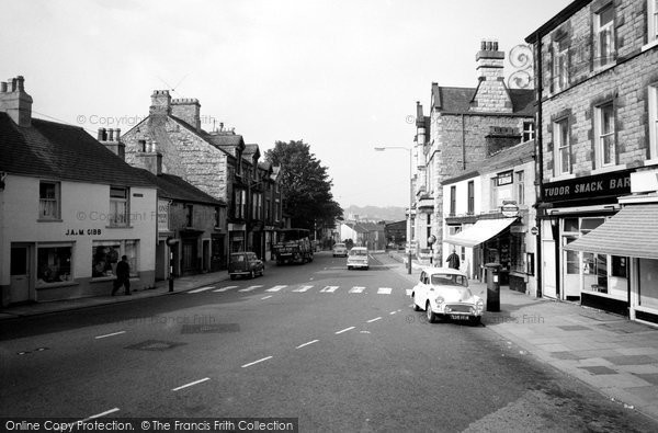 Dalton-In-Furness, Market Street 1966.  (Neg. D182008)  � Copyright The Francis Frith Collection 2008. http://www.francisfrith.com