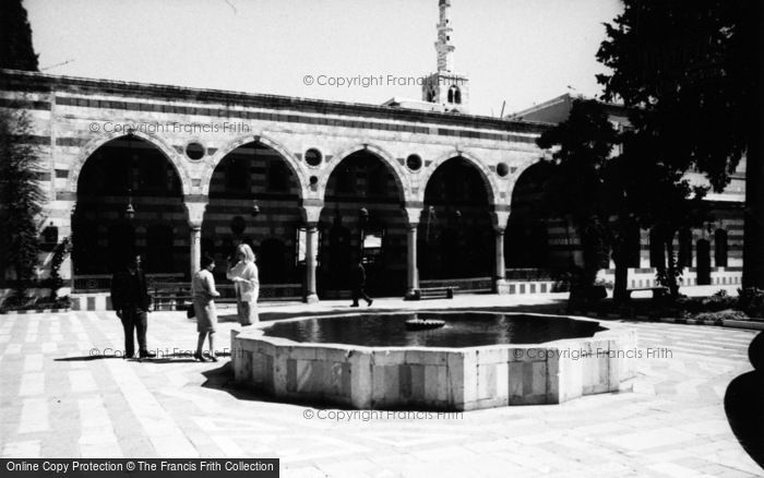 Photo of Damascus, El Azem Palace 1965