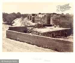 Damascus, St Paul's Wall 1857