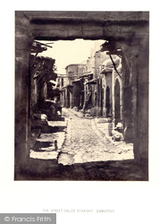 Damascus, The Street Called Straight 1857