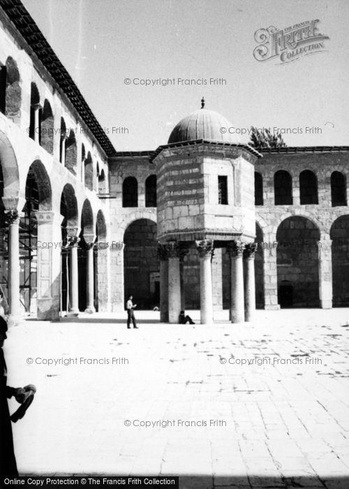 Photo of Damascus, Umayyad Mosque 1965