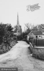 Danbury, Church Approach c.1960