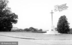 Danbury, Elm Green And Memorial c.1965