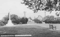 Danbury, Memorial And High Road c.1960