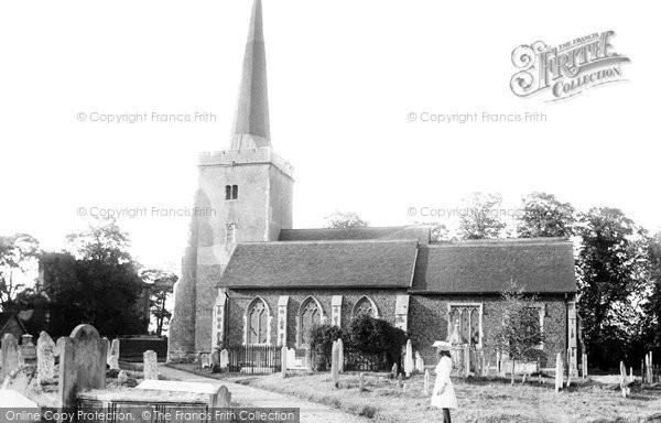 Danbury, the Church 1906