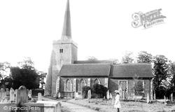 Danbury, Parish Church Of St John The Baptist 1906