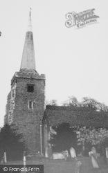 Danbury, St John The Baptist's Church c.1955