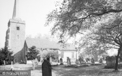 Danbury, St John The Baptist's Church c.1965