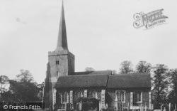 Danbury, The Church 1901
