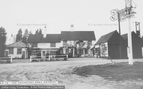 Cricketers Arms PH, Danbury, 1965 © Copyright The Francis Frith Collection 2005. http://www.francisfrith.com