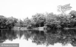 Danbury, The Lakes, Danbury Park c.1965