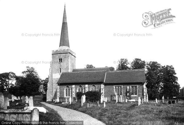 Photo of Danbury, The Parish Church Of St John The Baptist 1903