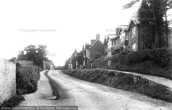 Photo of Danbury, The Village, Looking East 1903