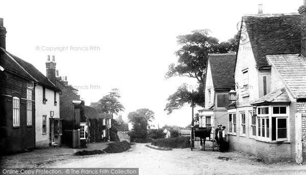 Photo of Danbury, The Village, Looking West 1903