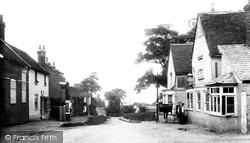 Danbury, The Village, Looking West 1903